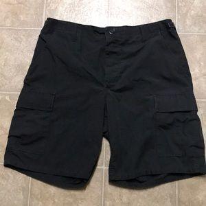 Other - Men's Black Cargo Shorts Size 34